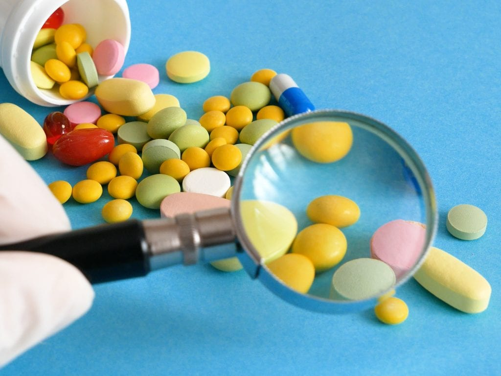Colorings, fillers, and other inactive ingredients are used in commercial medications.